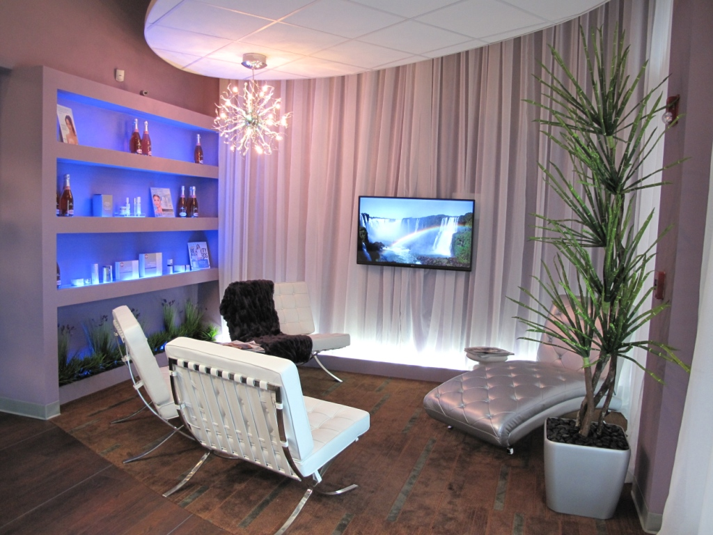 ALLURE Spa and Rejuvenation Interior Design, Medical Back to the portfolio