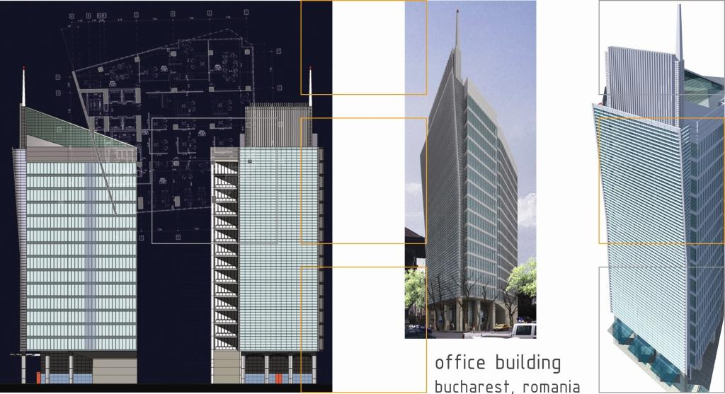 """Bucharest Office Center"" – One and Two"